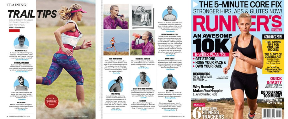 irene s - fitness model featured in women's health, runners world, bicycling and fair lady magazines