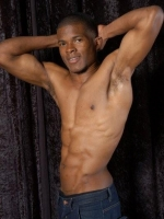 Ergosport Model, Moses K.. Ergosport Models supplies celebrity sports models, athletes and body doubles